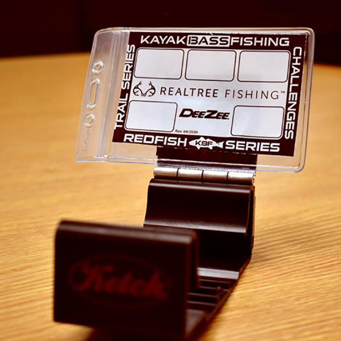 Ketch Products Tournament ID Holder / Bracket close-up