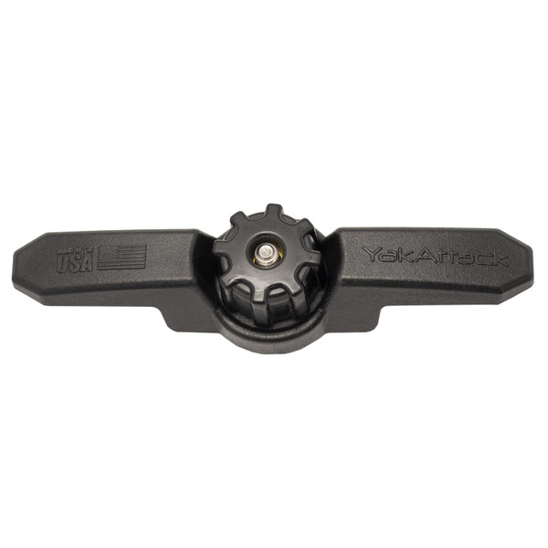 YakAttack GT Cleat XL with TurnKey Track Adapter top view