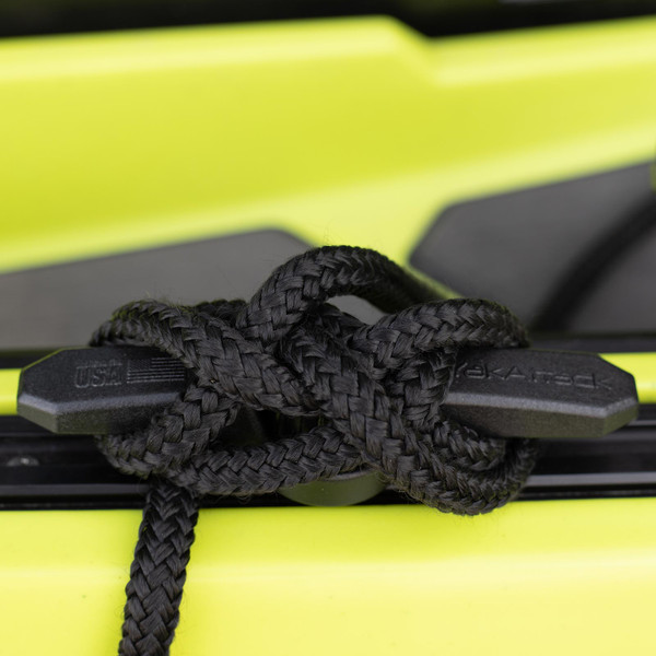 YakAttack Track Mount GT Cleat XL with rope close-up