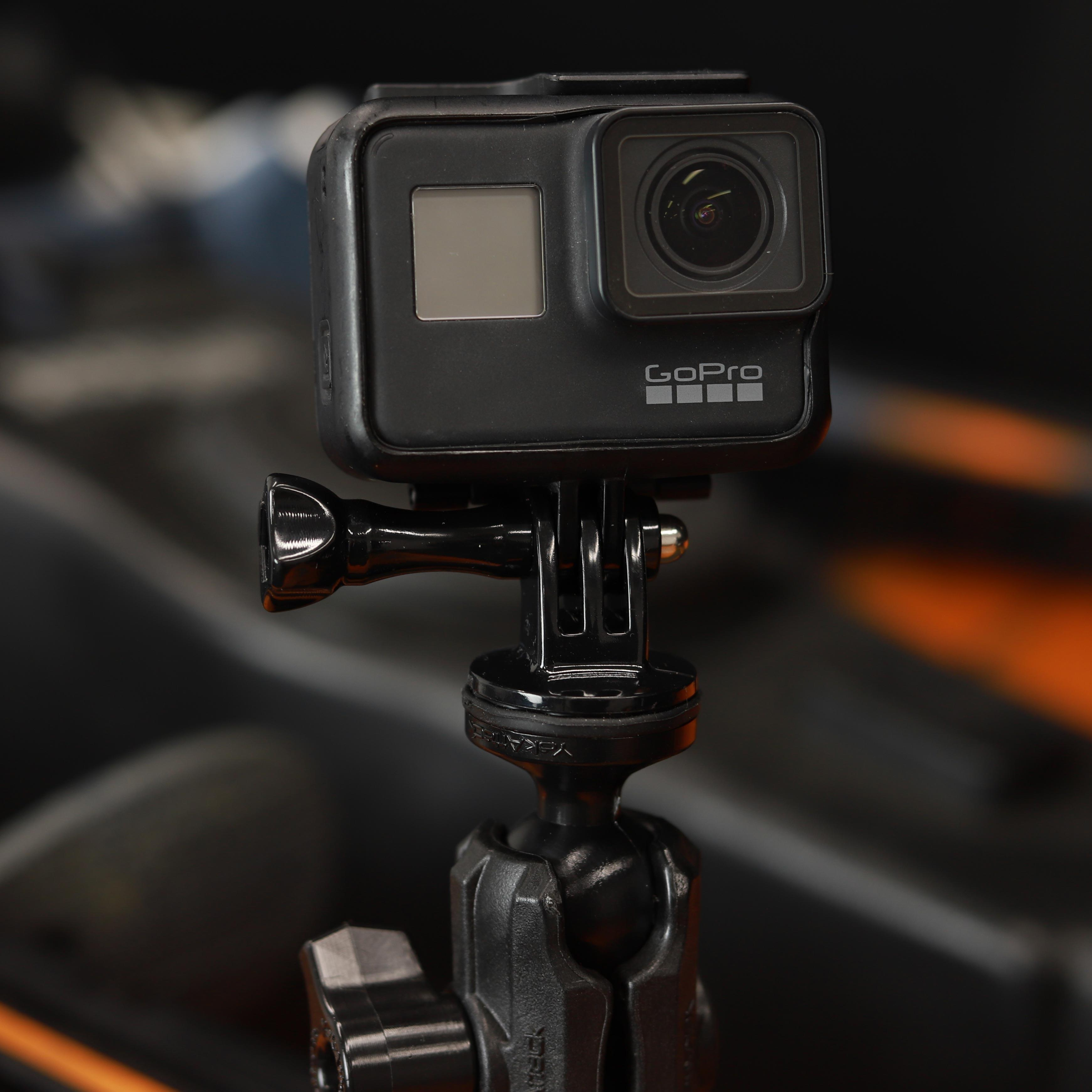 YakAttack Camera Ball in use with GoPro