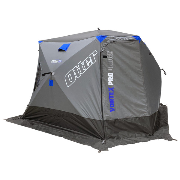 Otter Outdoors VORTEX PRO Lodge Thermal Hub Ice Shelter