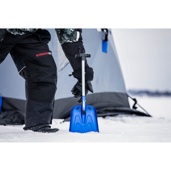 Otter Outdoors Telescoping Aluminum Shovel In Use View