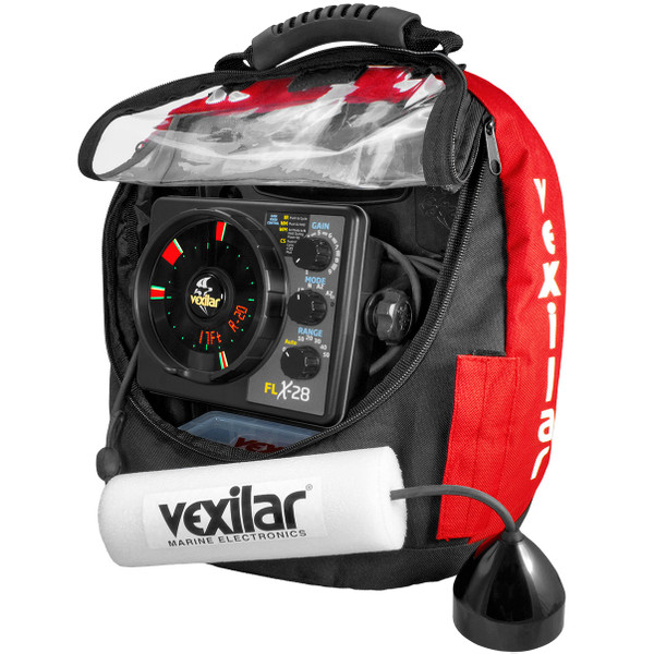 Vexilar FLX-28 Pro Pack II with ProView Ice-Ducer & Soft Pack Carry Case