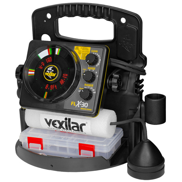 Vexilar FLX-30 BB Pro Pack II with Broad-Band Ice-Ducer