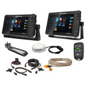 Lowrance HDS LIVE 9 & 12 Fish Finder Bundle with Active Imaging 3-in-1