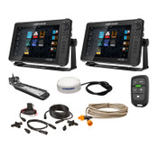 Lowrance Dual HDS LIVE 12 Fish Finder Bundle with Active Imaging 3-in-1