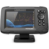Lowrance HOOK Reveal 5 Fish Finder with 50/200 HDI and C-MAP Contour+ Digital Map