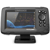 Lowrance HOOK Reveal 5 Fish Finder with SplitShot and US Inland Digital Map