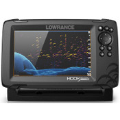 Lowrance HOOK Reveal 7 Fish Finder with 50/200 HDI and C-MAP Contour+ Digital Map