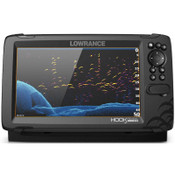 Lowrance HOOK Reveal 9 Fish Finder with TripleShot and C-MAP Contour+ Digital Map