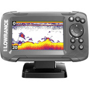 Lowrance HOOK2 4x Fish Finder with All Season Pack and GPS Plotter