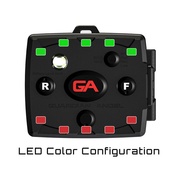 Guardian Angel Devices Micro Series Beacon Kayak Light LED Color Configuration
