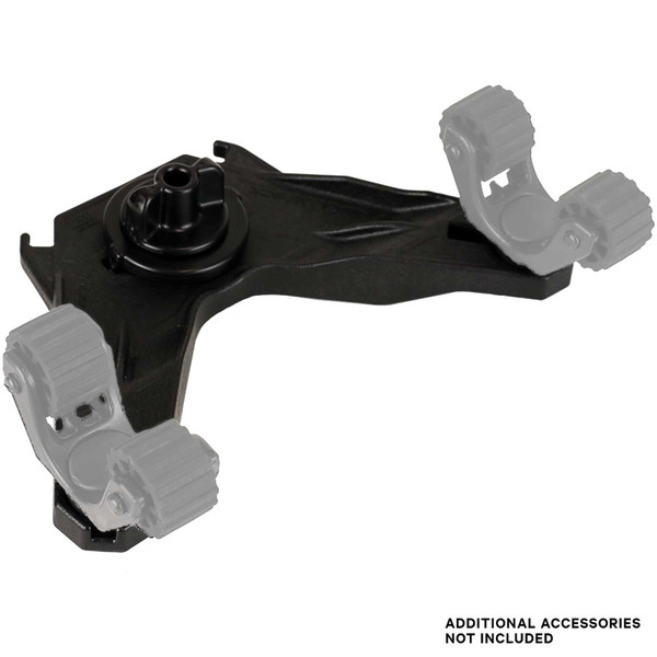 YakAttack DoubleHeader Track Mount (Rotogrips not included)