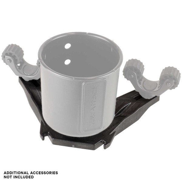 YakAttack DoubleHeader Track Mount (Rotogrips and cup holder not included)
