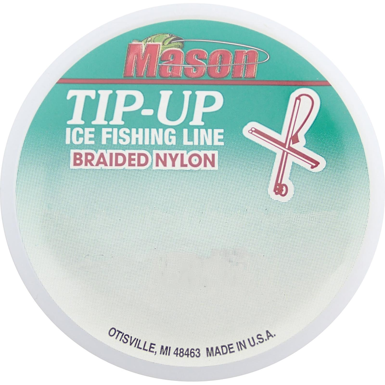 Mason Braided Tip-Up Line Front View