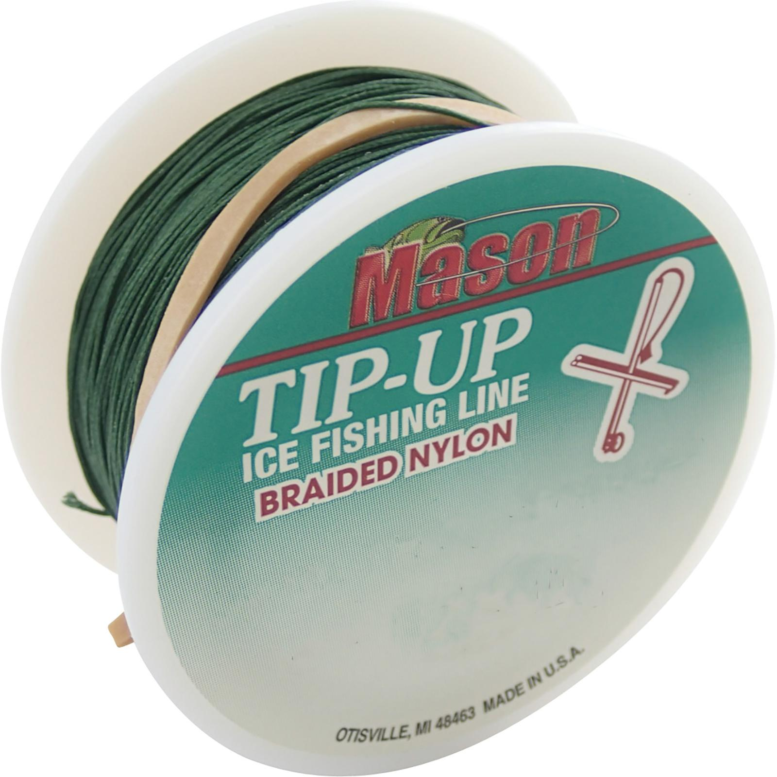 Mason Braided Tip-Up Line Side View