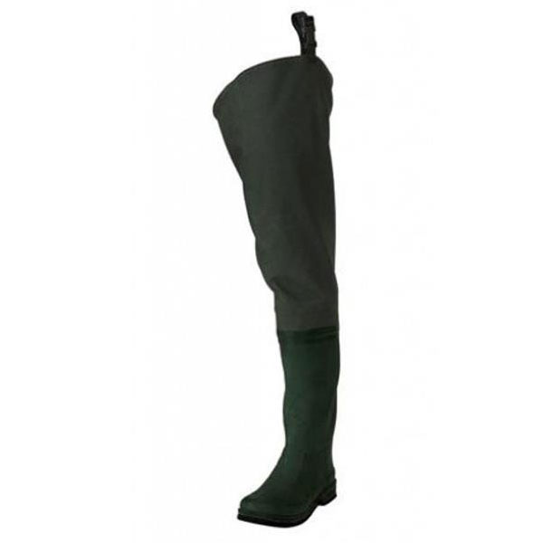 Frogg Toggs Youth Cascades Bootfoot Hip Waders Size Y 4 Style Rubber Color Dark Green