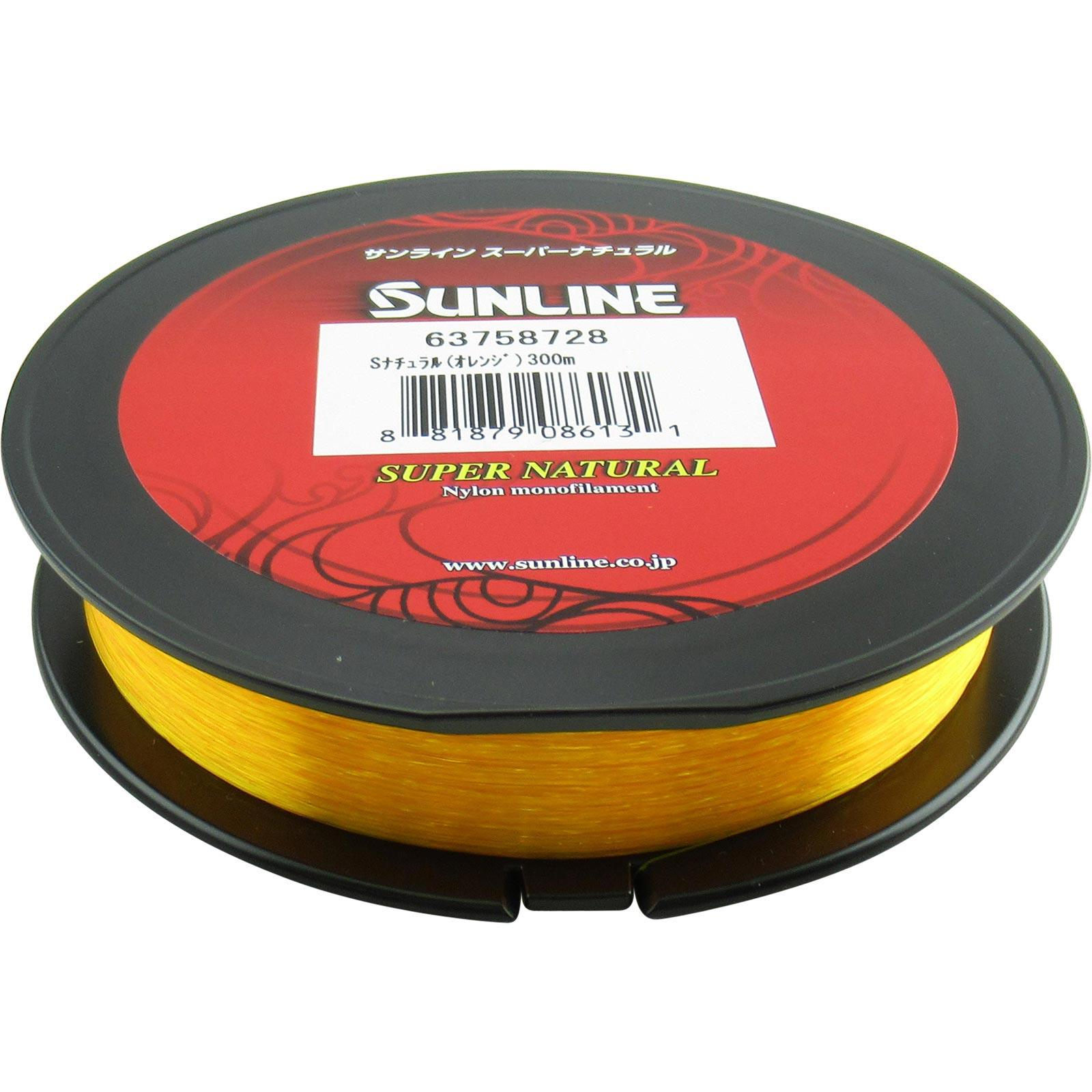 Super Natural Sunline Monofilament 330 YD Spool Fishing Line Any Color LB Test
