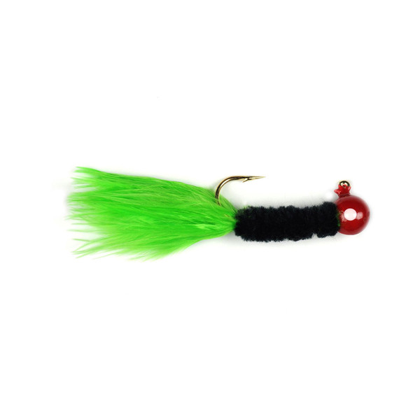 Red-Black-Chartreuse