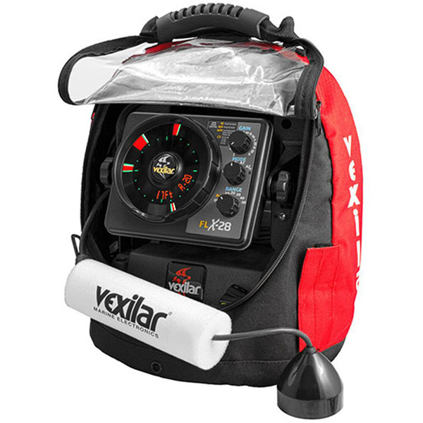 Vexilar FLX-28 Pack With ProView Ice-Ducer