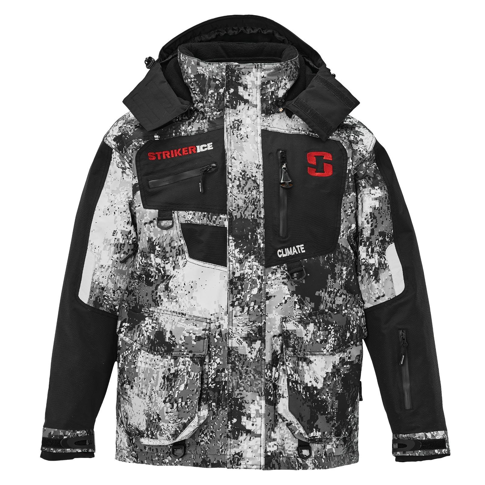 Striker Ice Mens Fishing Cold Weather Climate G2 Softshell Jacket