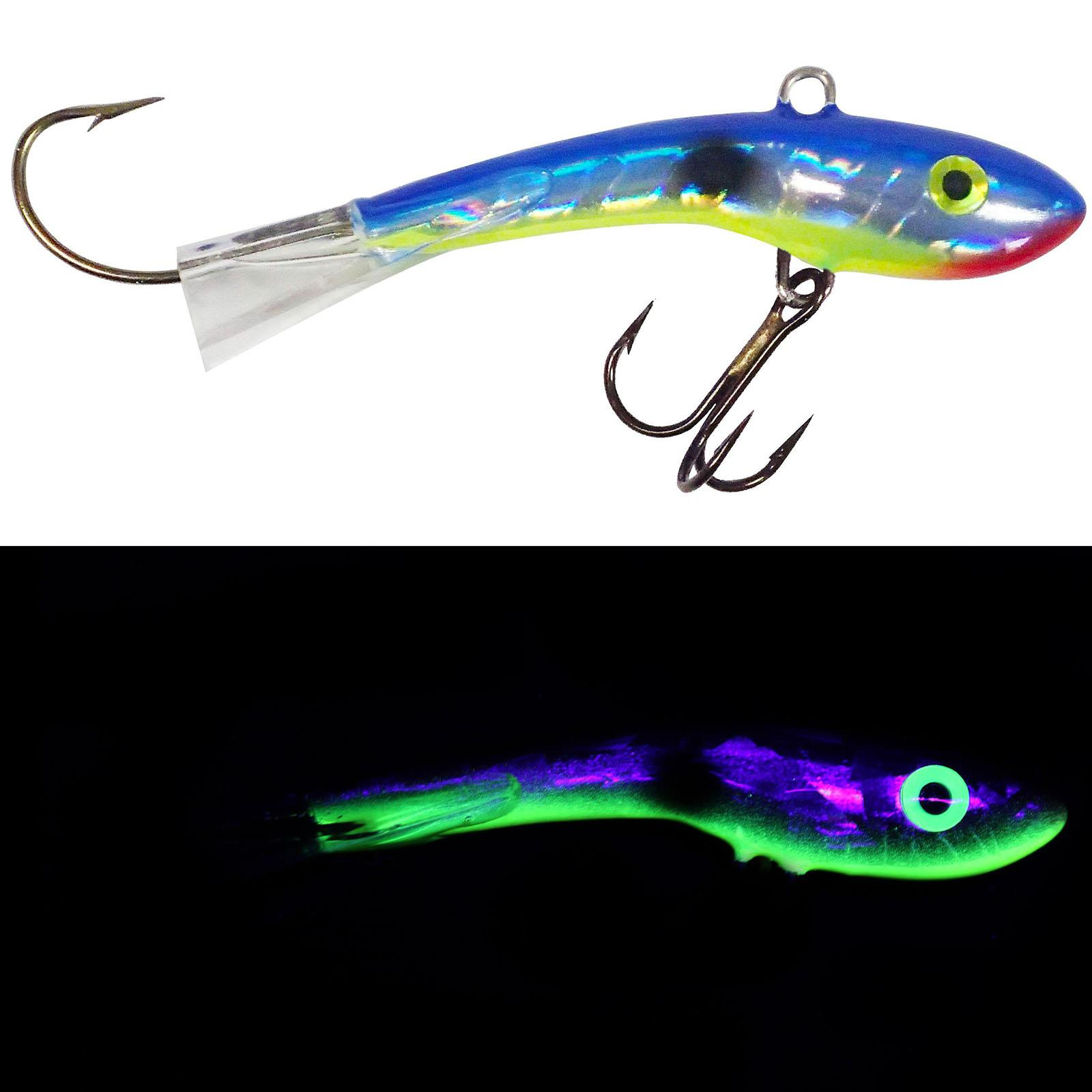 Holographic Silver Shad