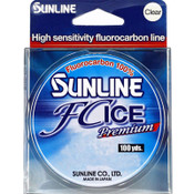 Sunline FC Premium Ice Fluorocarbon Line Clear Package