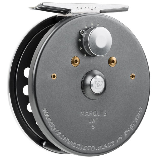 Hardy Marquis LWT Fly Reel - 1/4-Turn Frame Side
