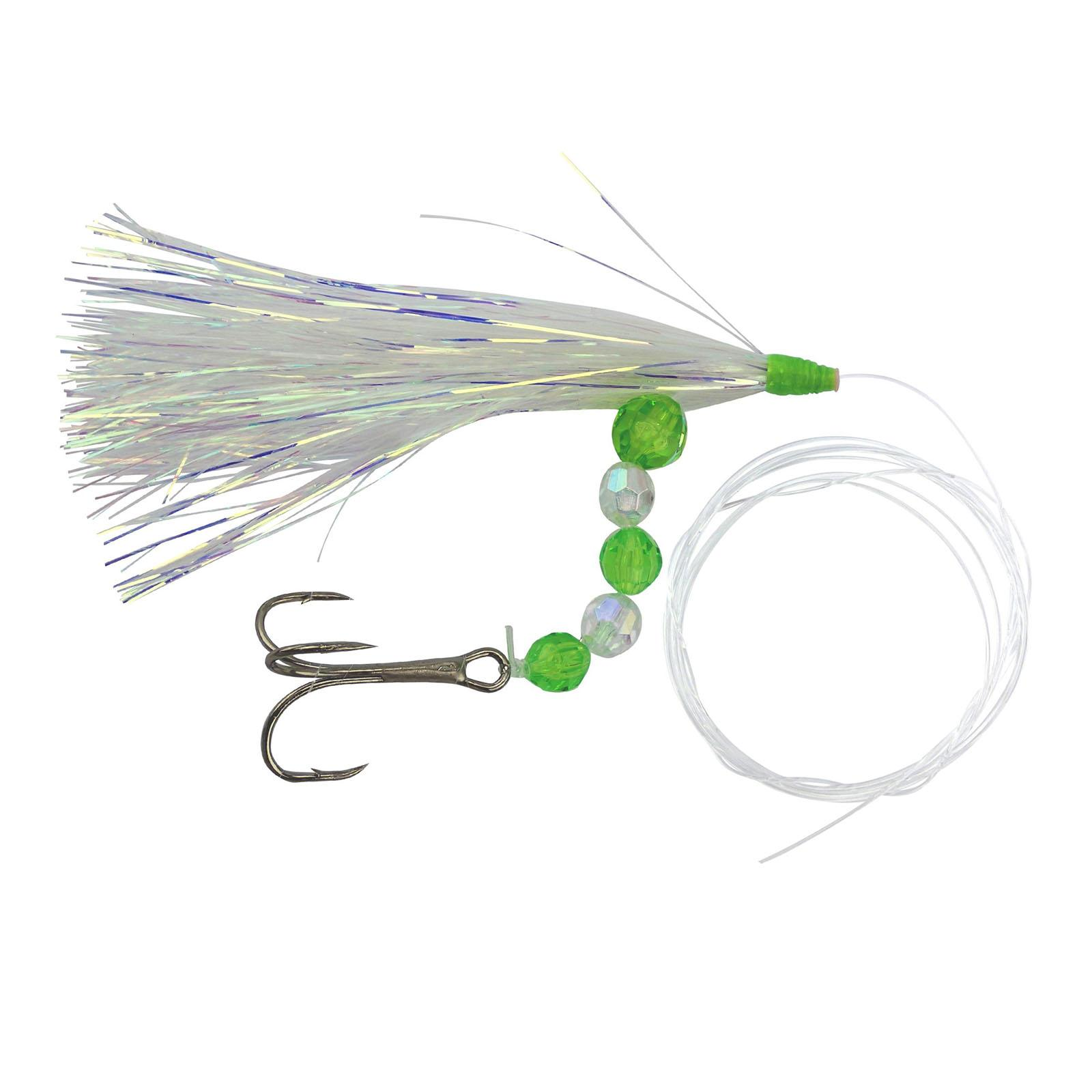 High Percentage Salmon Trolling Flies And Meat Rigs