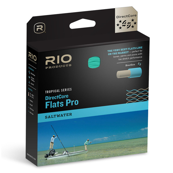 RIO Tropical Series DirectCore Flats Pro Stealth Tip Fly Line