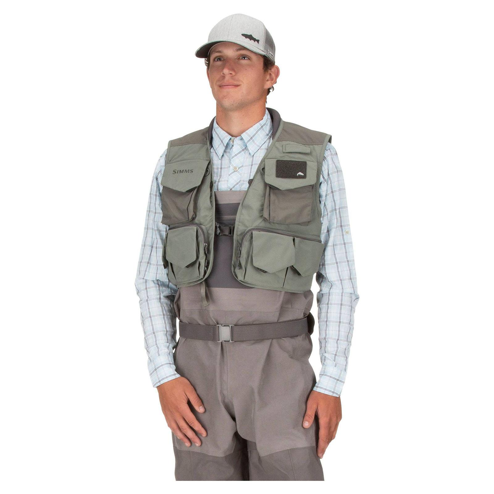 Vest On View - Hex Camo Loden