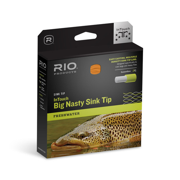 RIO Sink Tip Series InTouch Big Nasty 3D Fly Line