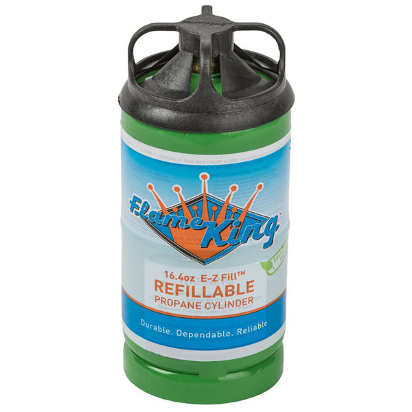 Flame King 1 lb. Refillable Propane