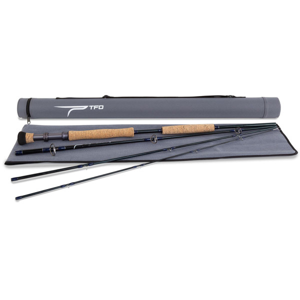 Temple Fork Outfitters Bluewater SG Fly Rod Pieces, Sock & Case