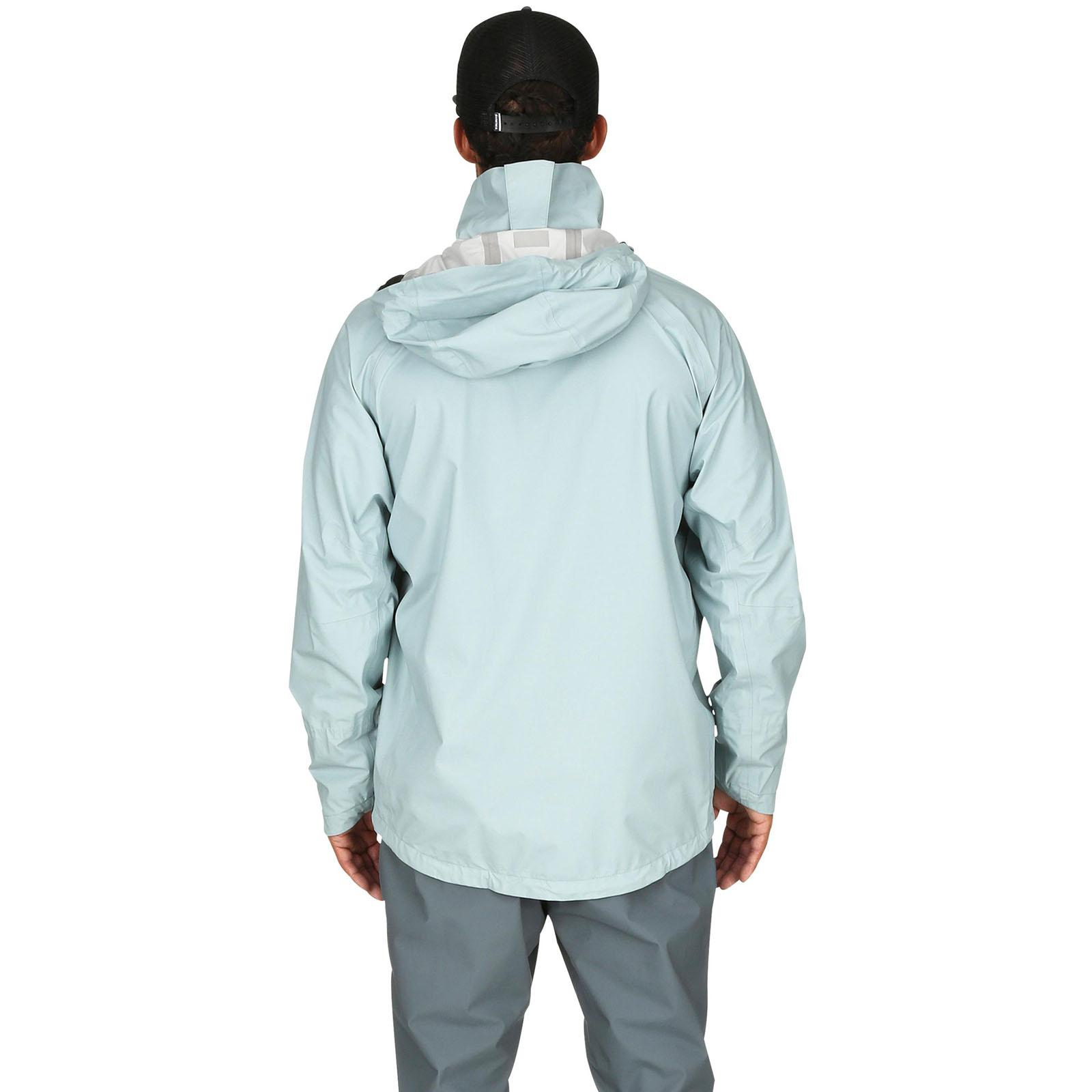 Back View - Grey Blue