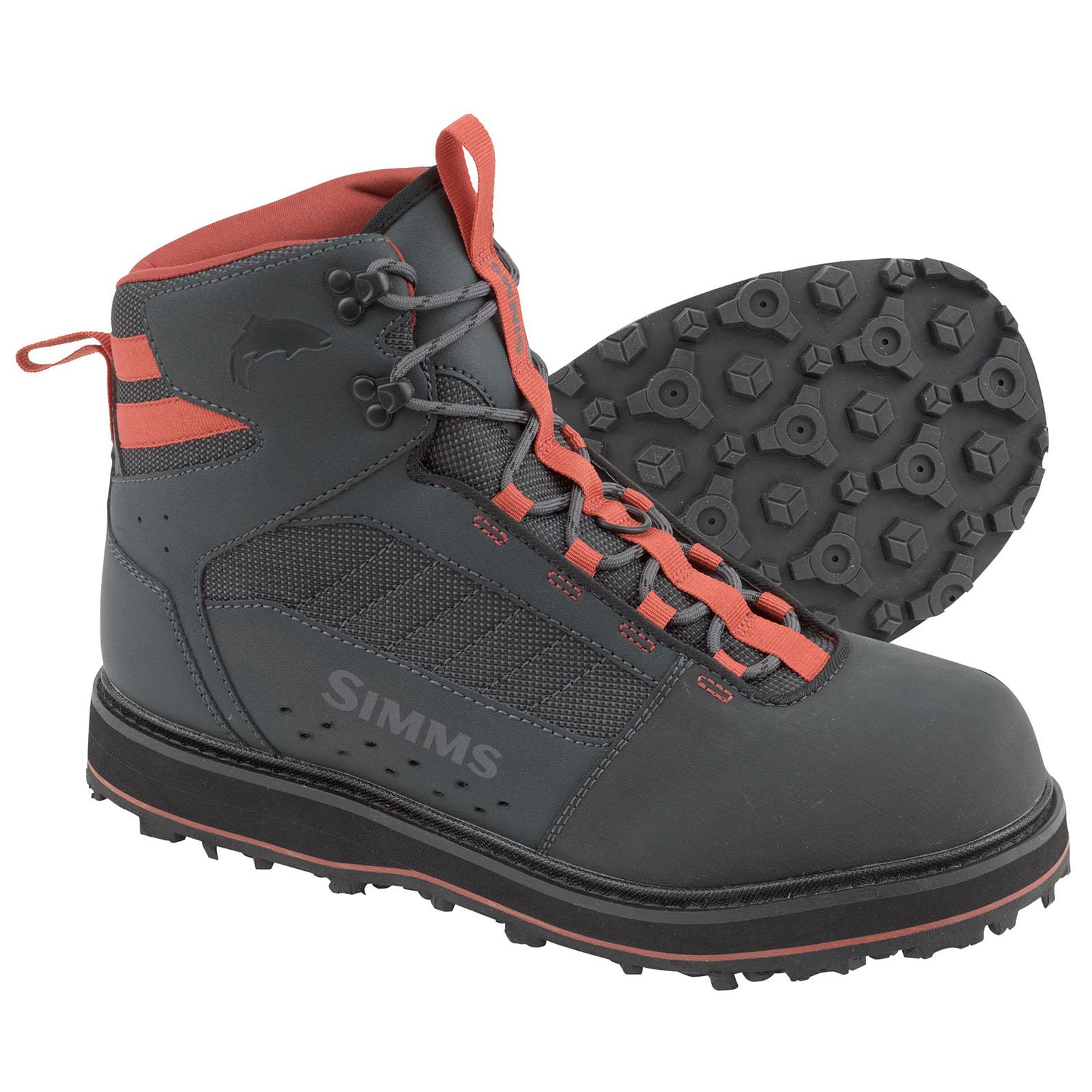 Simms Men's Tributary Wading Boot – Closeout 9; Carbon; Rubber