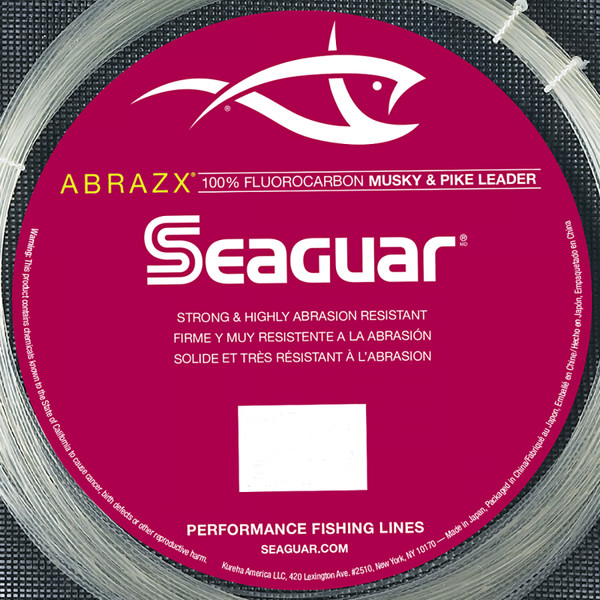Seaguar AbrazX Musky / Pike Leader Material Close Up