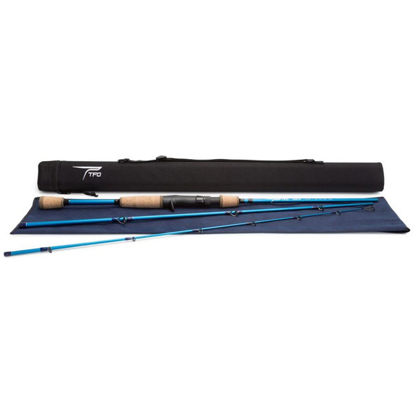 Temple Fork Outfitters Tactical TAC Traveler Casting Rod Pieces and Case