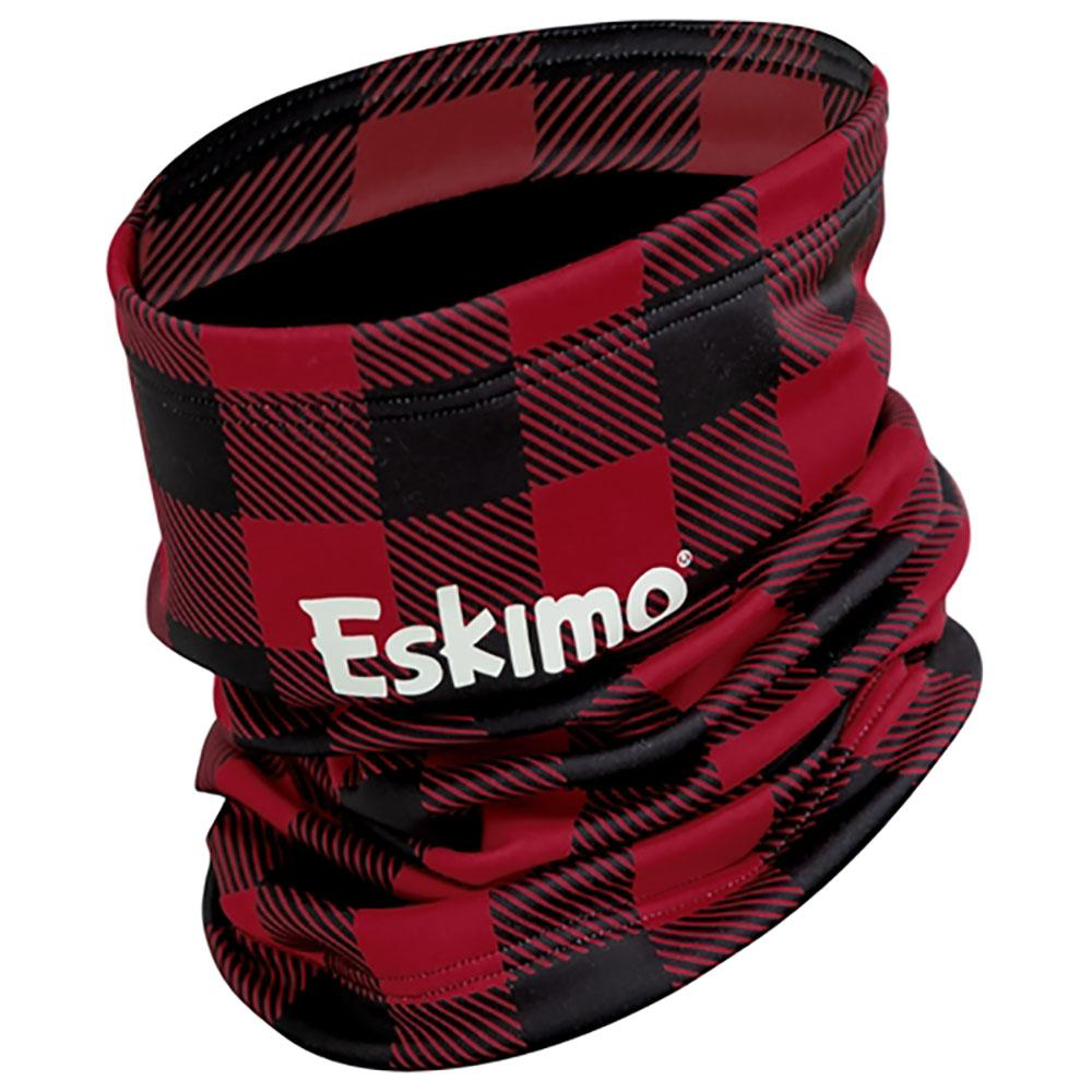 Eskimo Buffalo Plaid Fleece Neck Gaiter