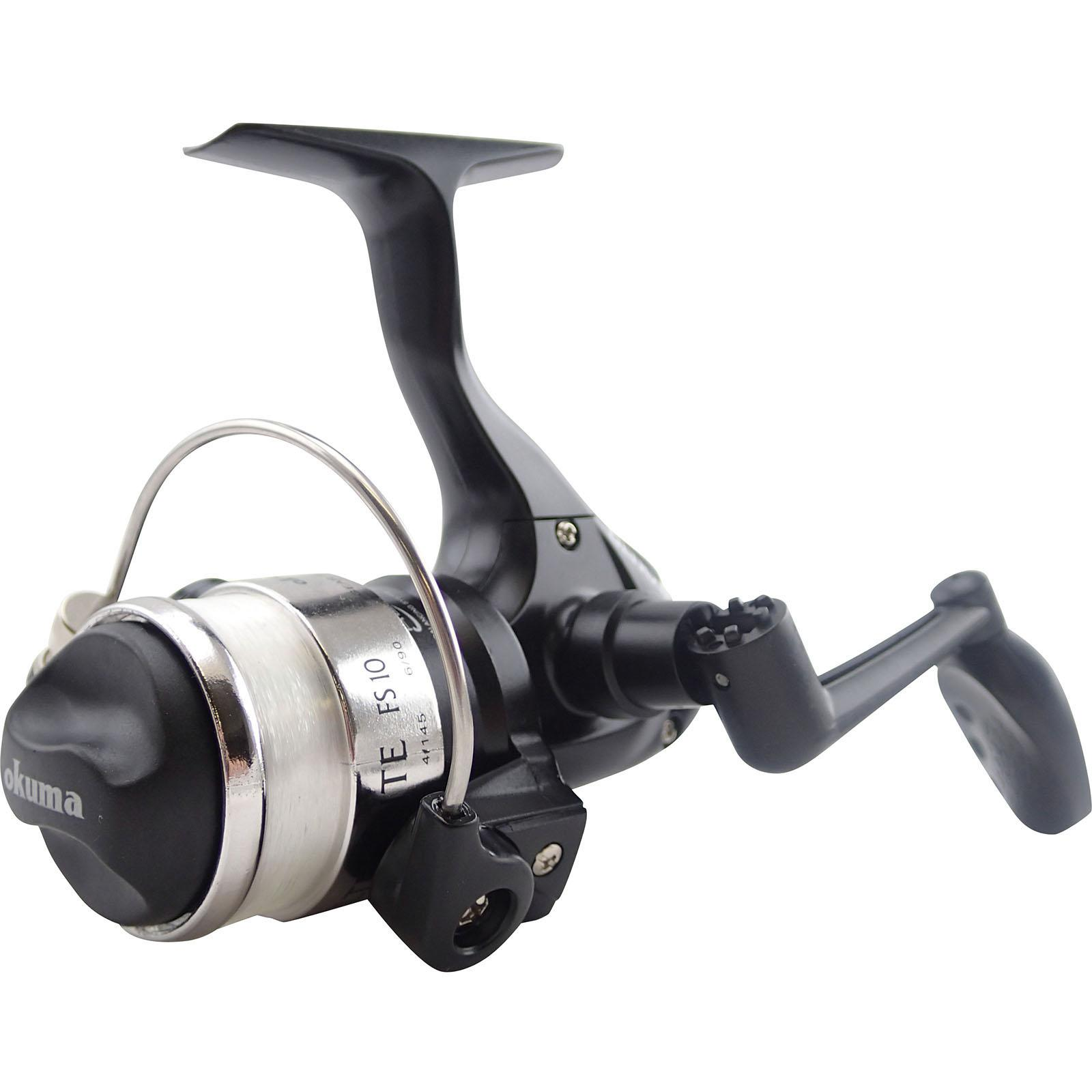 Okuma FS 10 Spinning Reel 1/4 turn