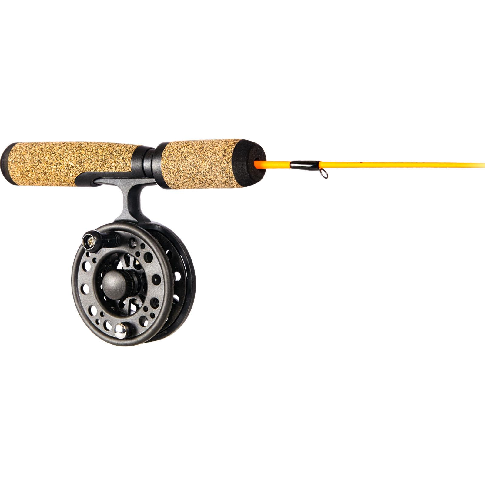 Frabill Arctic Fire Straight Line Combo Reel and Handle