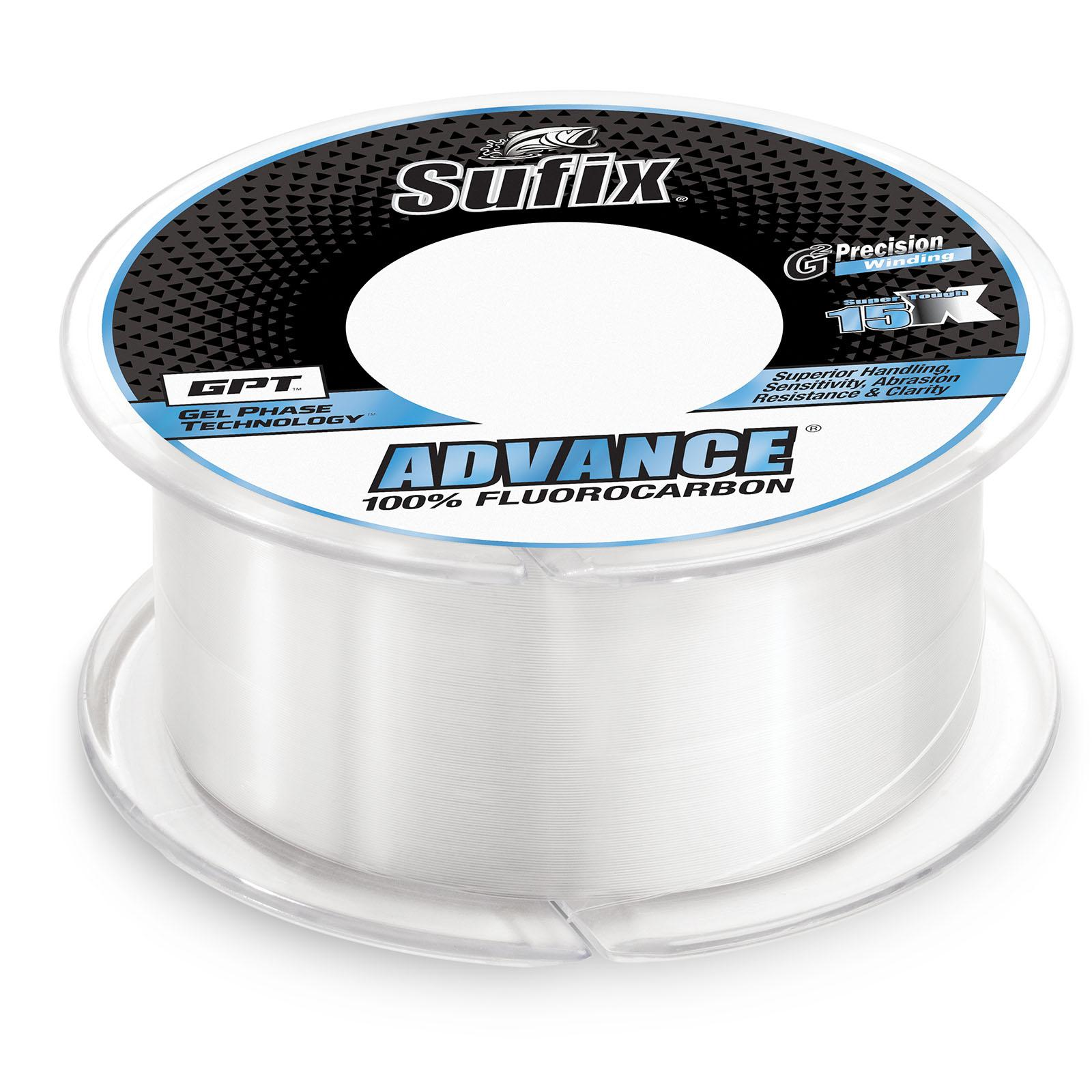 Sufix Advance Fluorocarbon Spool