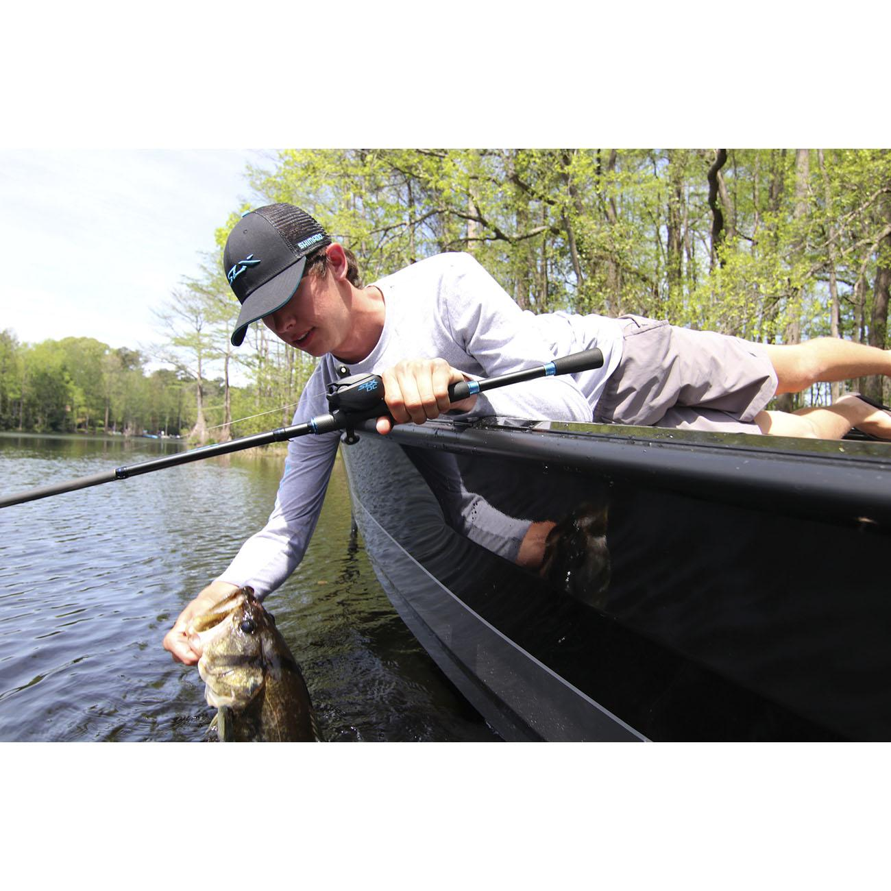 Shimano SLX DC 150 Low-Profile Casting Reel In Use