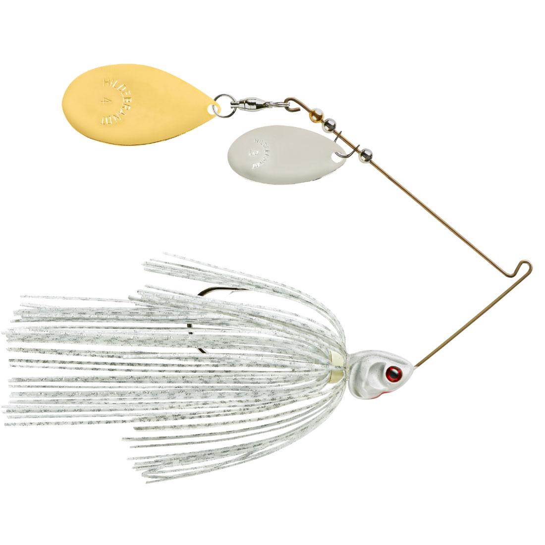 White Silver Scale Pearl Head - Gold-Nickel