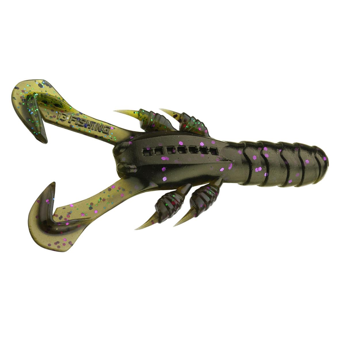 13 Fishing Ninja Craw Ninja Tail Size 3 in Color Mardi Craw