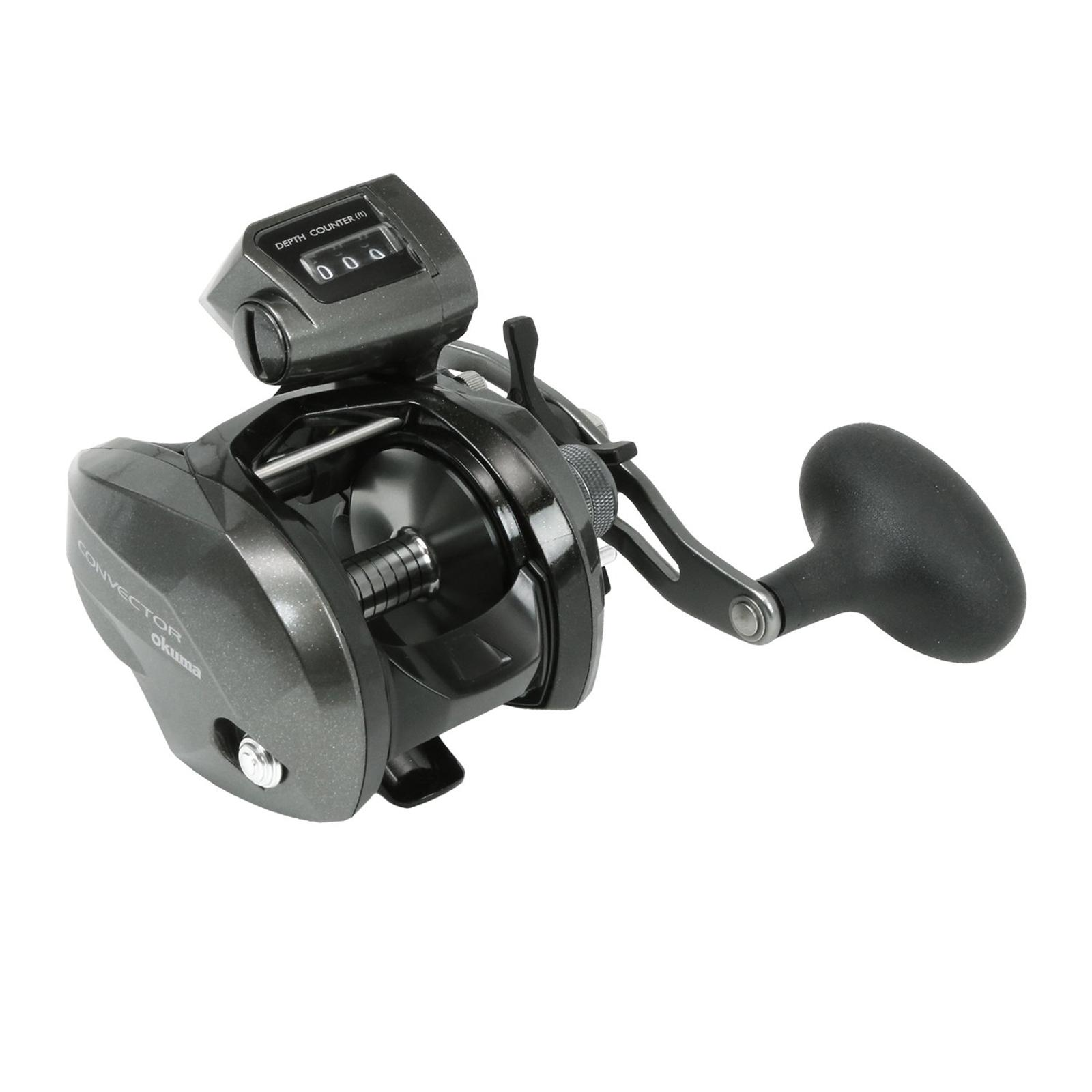 Okuma Convector Low-Profile Casting Reel Left Angle