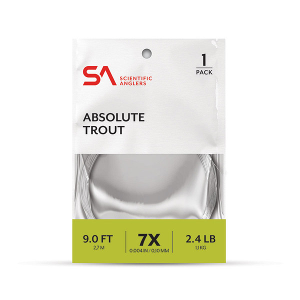 Absolute Trout Tapered Leader