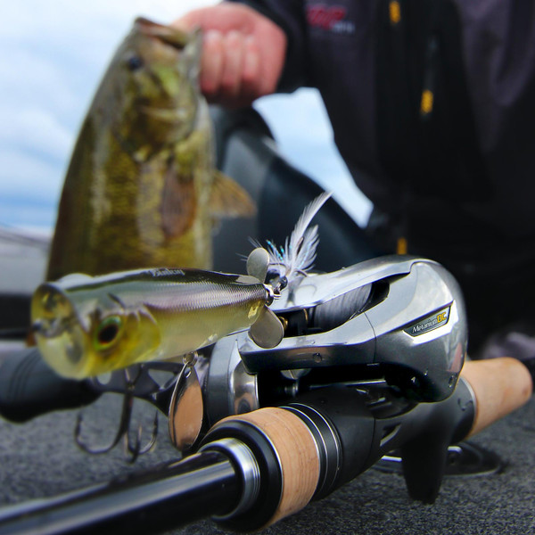 Shimano Expride Casting Rod in use