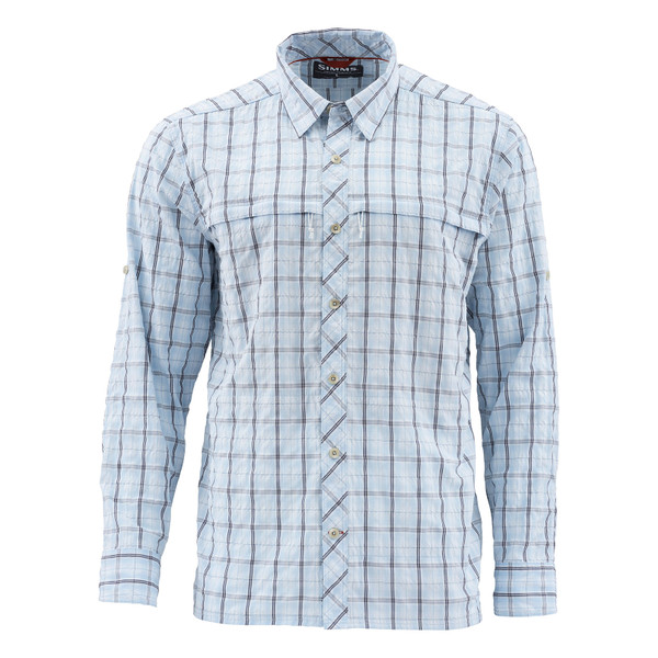 Mist Admiral Blue Plaid Front
