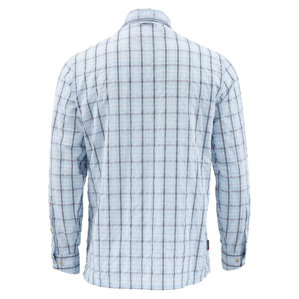 Mist Admiral Blue Plaid Back